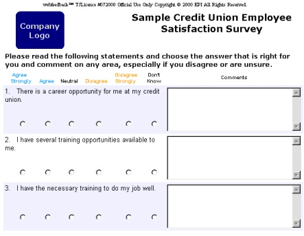 Webfeedback Sample Business and Credit Union Surveys – Survey Sample